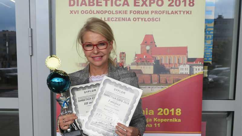 BIOLIT nagrodzony na Ogólnopolskim Sympozjum Diabetologicznym Diabetica Expo 2018 - Biolit