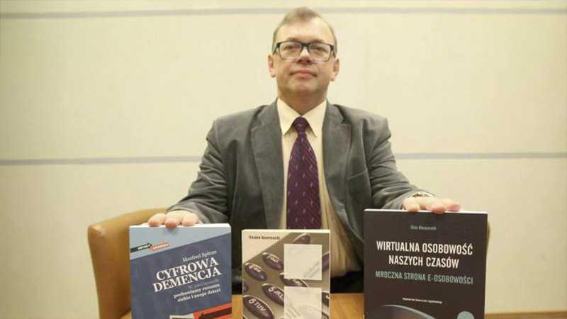 Prezentacja autora artykułów naukowych dr Kazimierza Kopczyńskiego - Biolit
