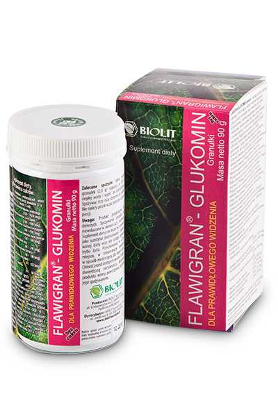 Flawigran - Glukomin - Biolit -  Anty aging,  Dla biznesu,  Dla seniorów,  Dla sportowców,  Dla uczniów,  Suplementy