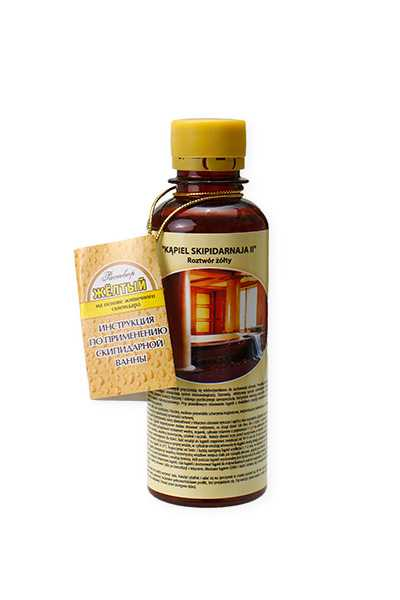 Kąpiel Skipidarnaja II - żółty roztwór - Biolit -  Anty aging,  Dla biznesu,  Dla seniorów,  Dla sportowców,  Kąpiele,  Kosmetyki