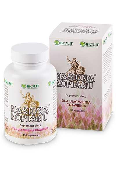 Nasiona łopianu - Biolit -  Suplementy,  Anty aging,  Dla sportowców,  Dla uczniów,  Dla biznesu,  Dla seniorów