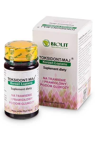Toksidont - maj - Biolit -  Anty aging,  Dla biznesu,  Dla seniorów,  Dla sportowców,  Dla uczniów,  Suplementy