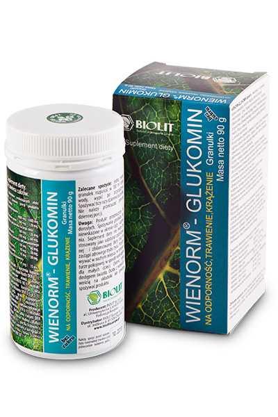Wienorm - Glukomin - Biolit -  Suplementy,  Anty aging,  Dla sportowców,  Dla uczniów,  Dla biznesu,  Dla seniorów