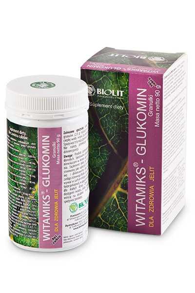 Witamiks - Glukomin - Biolit -  Anty aging,  Dla biznesu,  Dla seniorów,  Dla sportowców,  Dla uczniów,  Suplementy