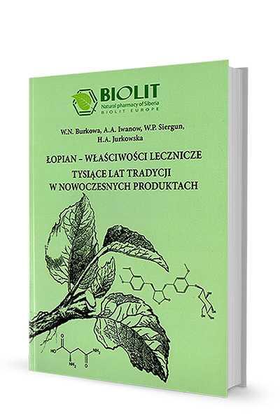 Łopian – właściwości lecznicze - Biolit -  Publikacje i książki