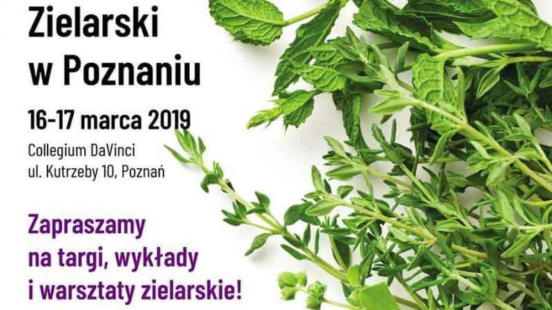 Zapraszamy na Festiwal Viva Zioła! - Kongres Zielarski z Poznaniu / 16-17.03.2019 - Biolit