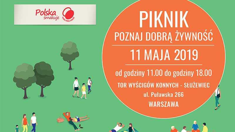 Piknik Poznaj Dobrą Żywność - zapraszamy na nasze stoisko / Warszawa 11.05.2019 - Biolit
