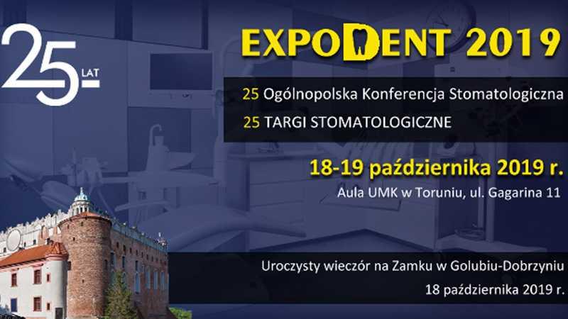 Zapraszamy na wykład - XXV Konferencja Stomatologiczna Expodent 2019 w Toruniu / 18-19.10.2019 - Biolit