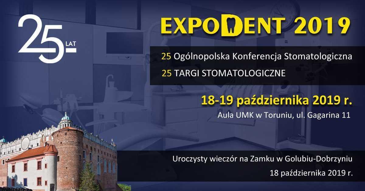 Zapraszamy na wykład - Sympozjum Stomatologiczne Expodent 2019 / Toruń / 19.10.2019 - Biolit
