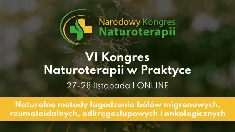 VI Kongres Naturoterapii W Praktyce | Online - Biolit