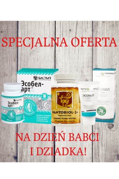 Produkt - Esobel art + Esobel krem + Pantobiol 2+